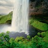 Waterfall, Seljalandsfoss, Iceland