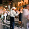 People dancing in the square (Danzon, Zocalo), Veracruz, Mexico