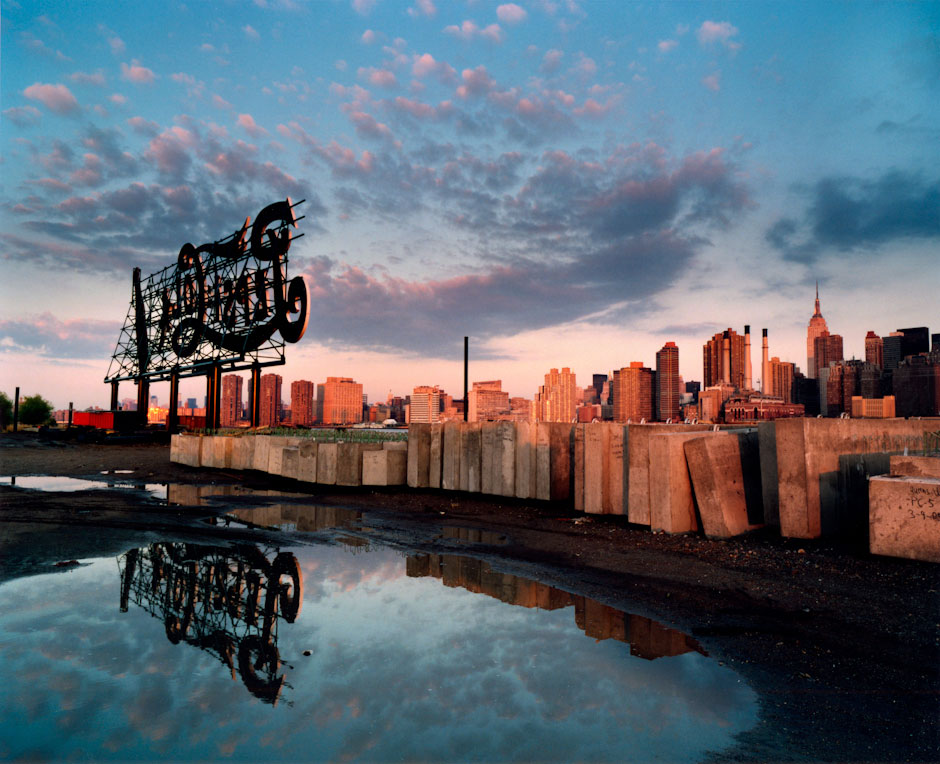 Pepsi Cola Sign, Queens West Developement, Long Island City, New York City (Queens), NY